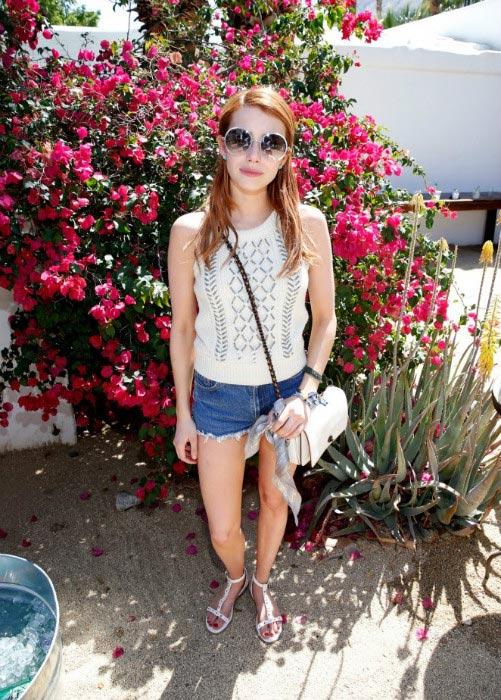 Emma Roberts at Coachella 2016
