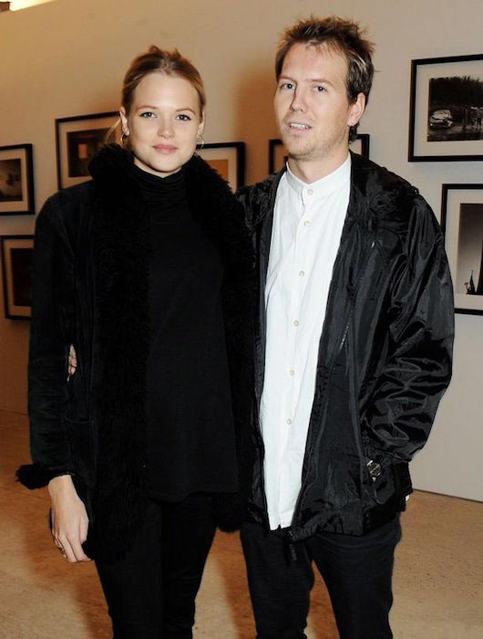 Gabriella Wilde and Alan Pownall