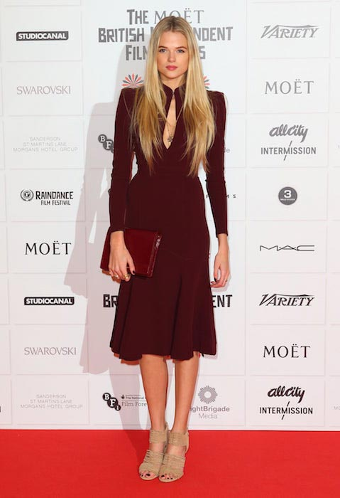 Gabriella Wilde at the British Independent Film Awards on December 9, 2012