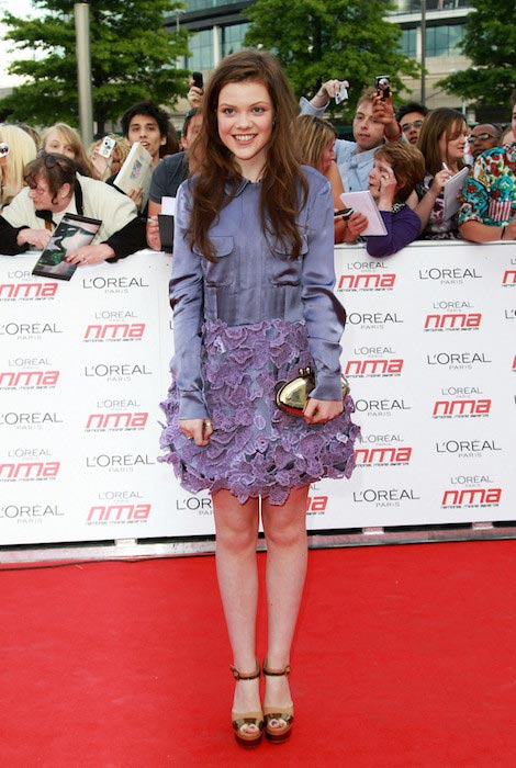Georgie Henley at the National Movie Awards 2011