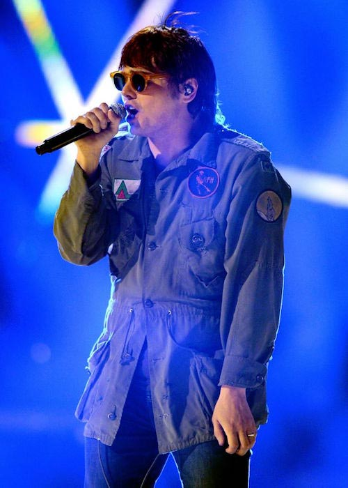Gerard Way at the 2012 iHeartRadio Music Festival