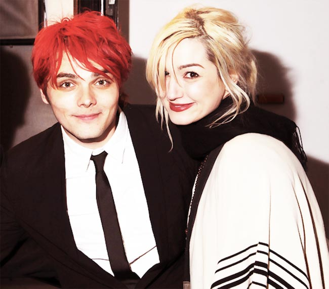 Gerard Way and Lyn-Z Way