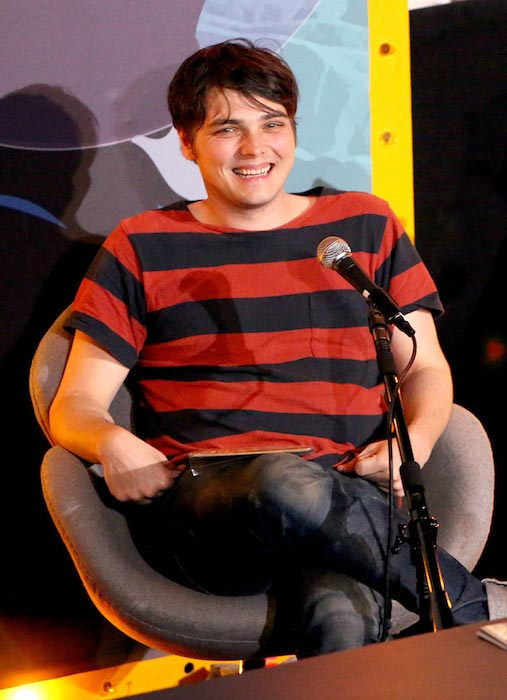 Gerard Way at the Humans From Earth Podcast Series Day 2 in May 2014