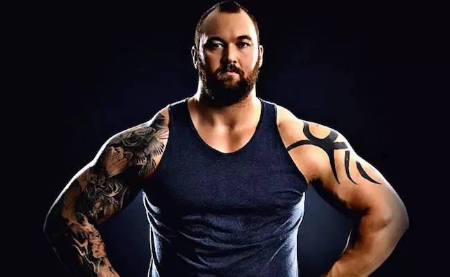 Strongman Hafthor Julius Bjornsson