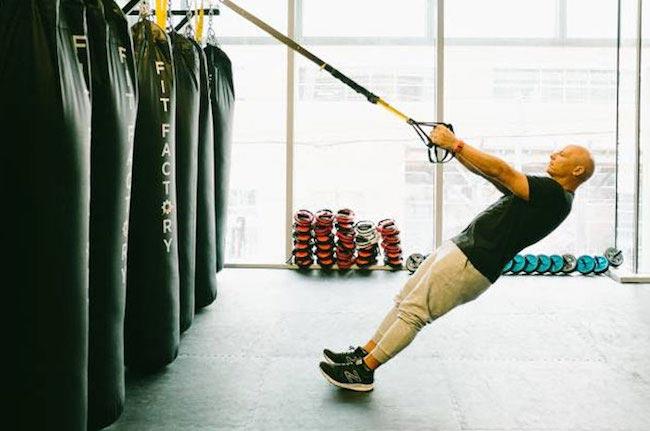 Celebrity trainer Harley Pasternak