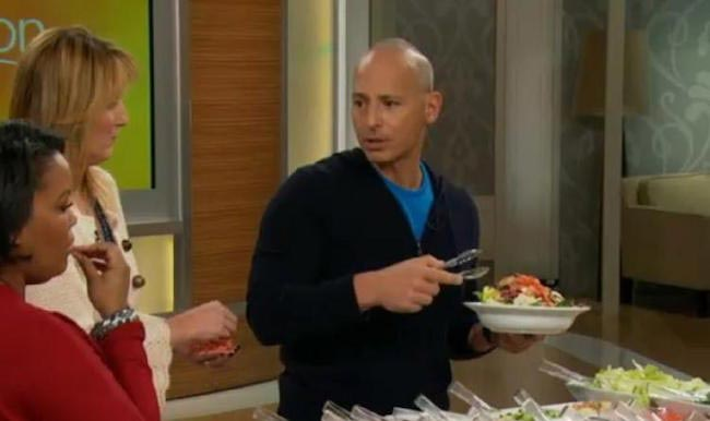 "Harley Pasternak on the ABC show ""The Revolution"" on how to make a salad"