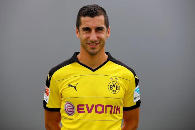Henrikh Mkhitaryan during his time with Borussia Dortmund