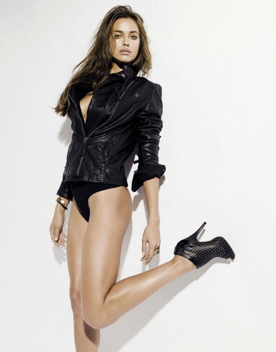 Irina Shayk as MTV hot woman