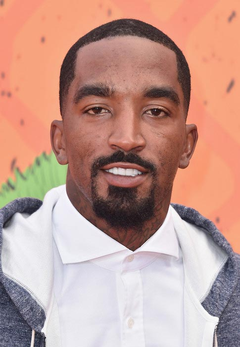 J.R. Smith at the Nickelodeon Kids' Choice Sports Awards 2016