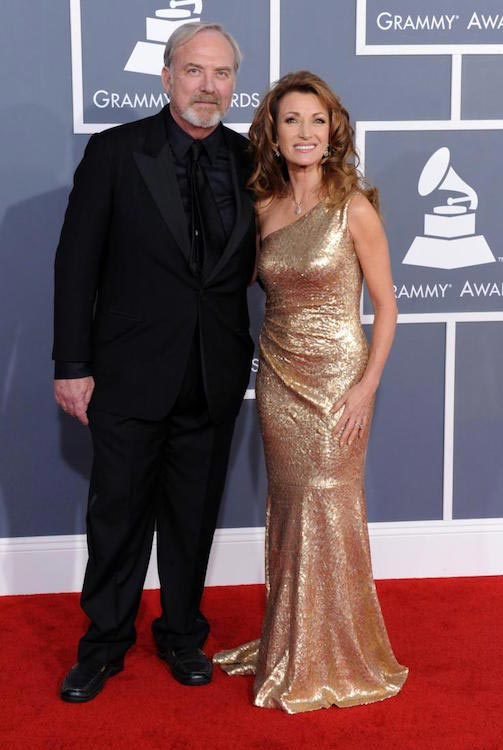 Jane Seymour and former husband James Keach at 54th Annual GRAMMY Awards in 2012
