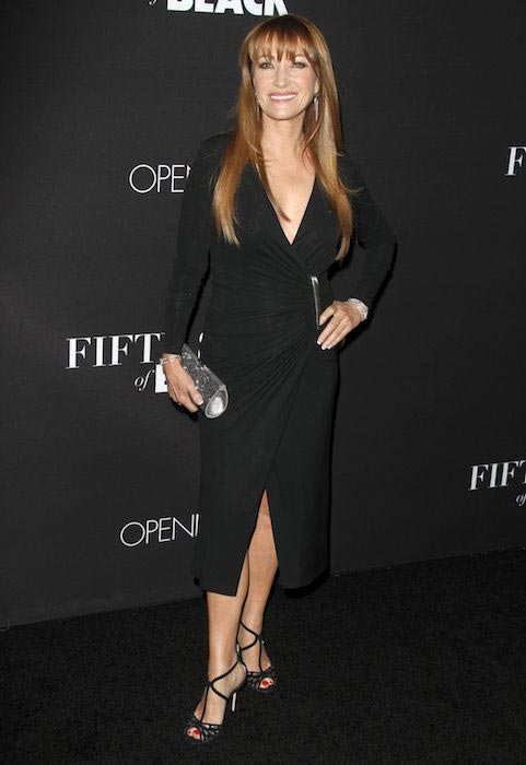 "Jane Seymour at the premiere of ""Fifty Shades of Black"" on January 26, 2016"