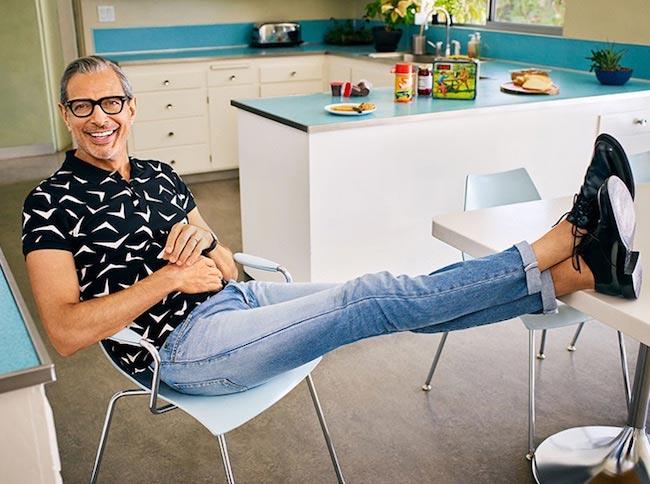 Jeff Goldblum at the 2016 photoshoot for Parade Magazine