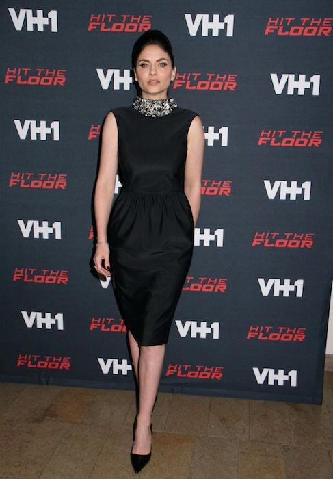 Jodi Lyn O'Keefe at Hit the Floor Season 3 Premiere in Los Angeles on January 9, 2016