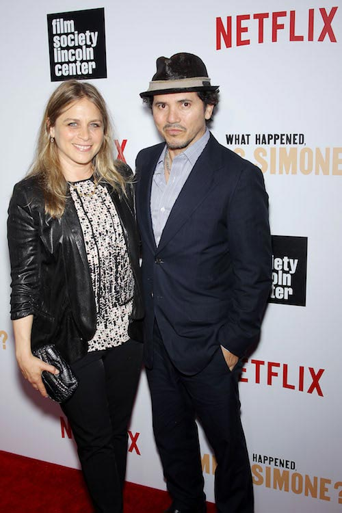 John Leguizamo and wife Justine Maurer at the Netflix and FSLC event in June 2015