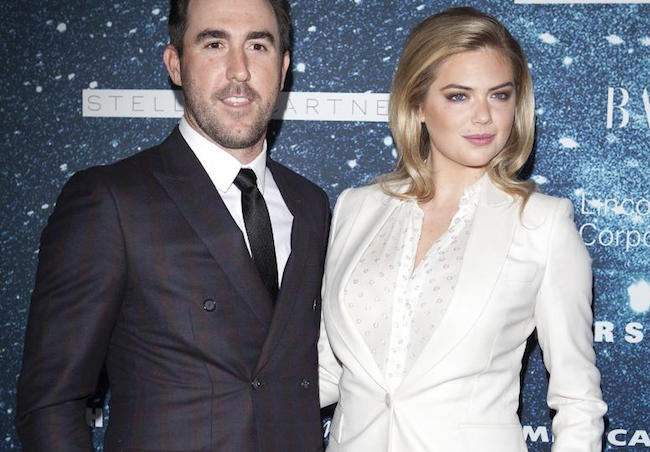 Justin Verlander with beautiful, Wife Kate Upton