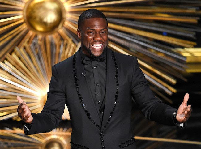 Kevin Hart at 2016 Oscar Awards