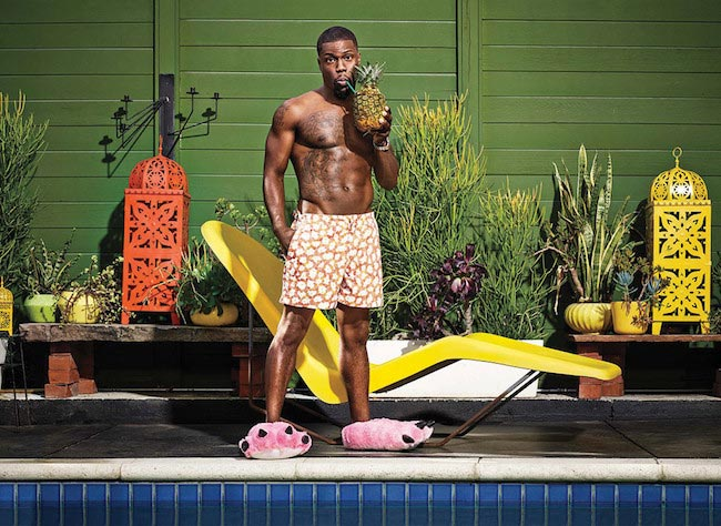 Kevin Hart shirtless body