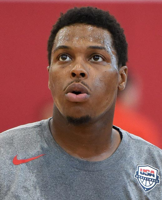 Kyle Lowry during USA's training camp in Las Vegas, Nevada on July 21, 2016