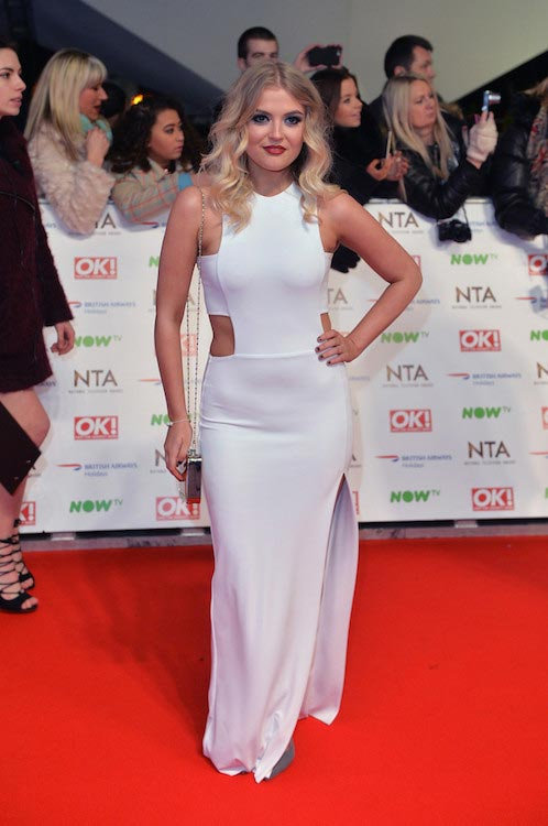 Lucy Fallon at National Television Awards 2016