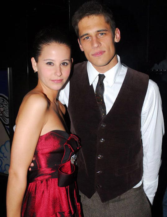 Martino Rivas and girlfriend Irene Escolar