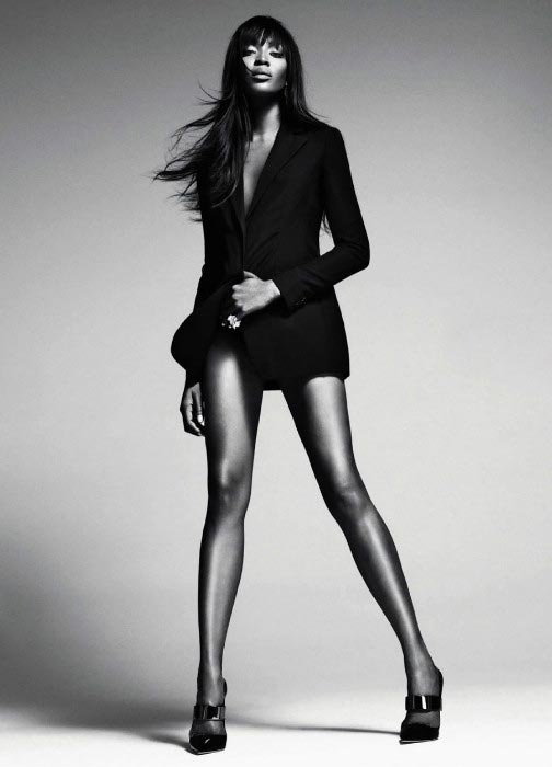 Naomi Campbell hot as a model