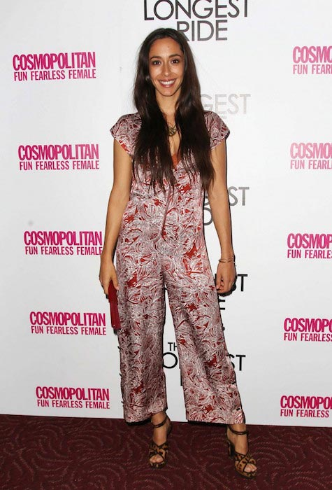 "Oona Chaplin at ""The Longest Ride"" Fan Screening in March 2015"