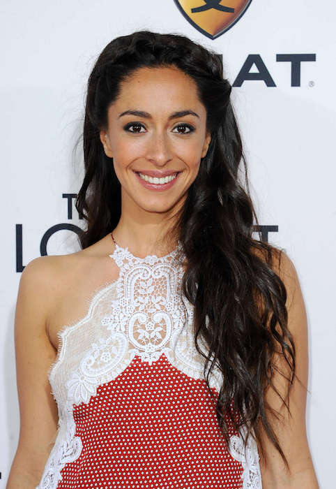 "Oona Chaplin at ""The Longest Ride"" premiere in April 2015"