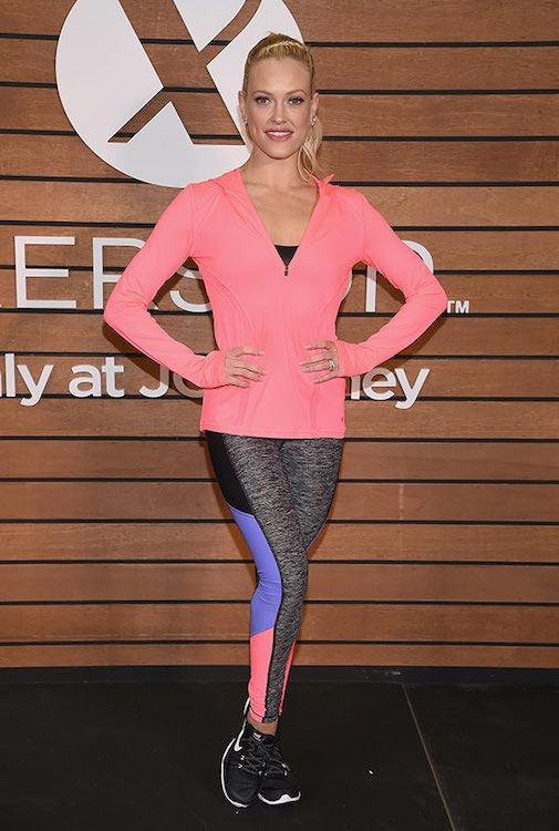 Peta Murgatroyd in her workout gear