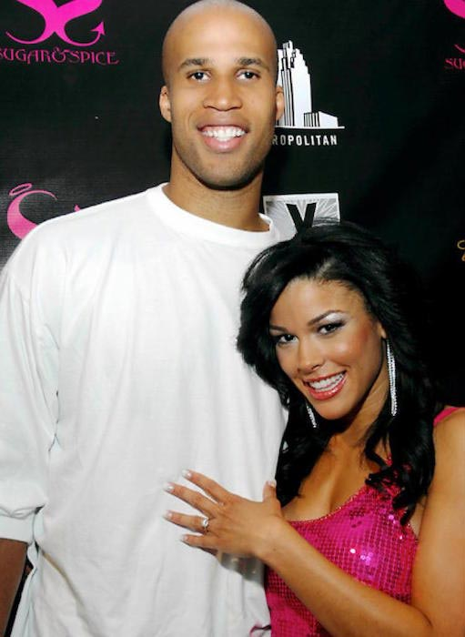 Richard Jefferson and Kesha Nichols