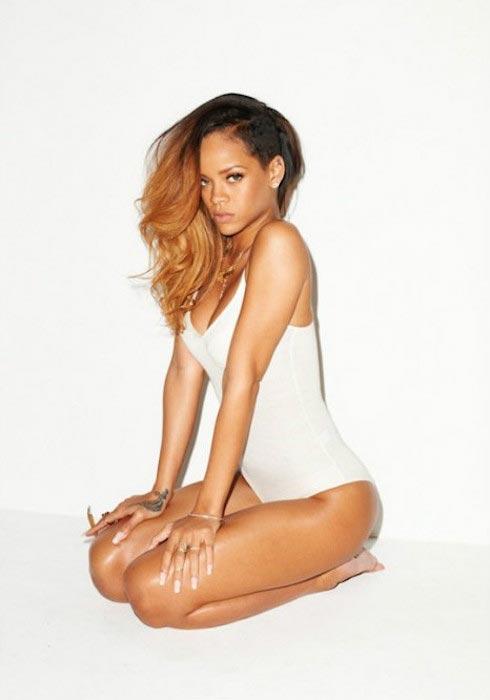 Rihanna as MTV hot woman
