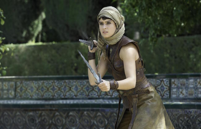 Rosabell Laurenti Sellers in a still from Game of Thrones
