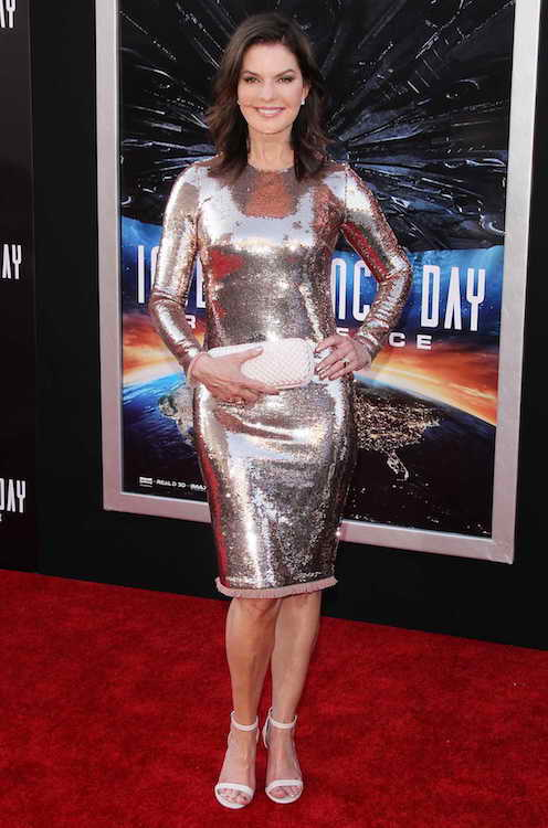 "Sela Ward at the premiere of ""Independence Day: Resurgence"" on June 20, 2016"