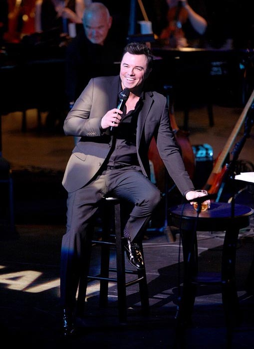 "Seth MacFarlane at ""A Concert For Our Oceans"" in September 2015"