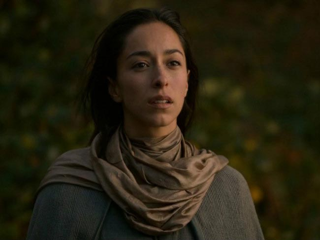 Talisa Stark played by Oona Chaplin