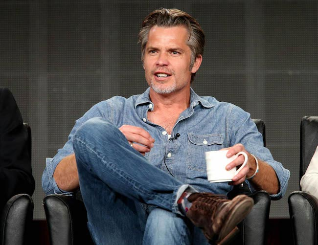 Timothy Olyphant looking dapper