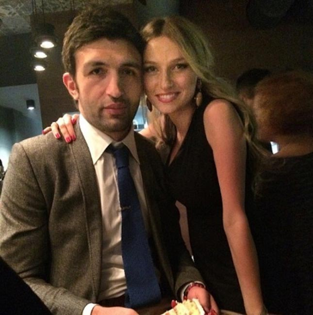 Zaza Pachulia and his wife Tika Alavidze