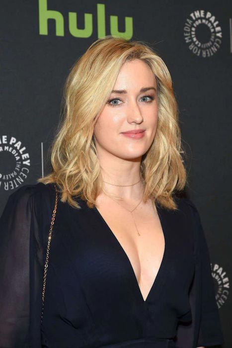 Ashley Johnson at a BlindSpot event on April 11, 2016
