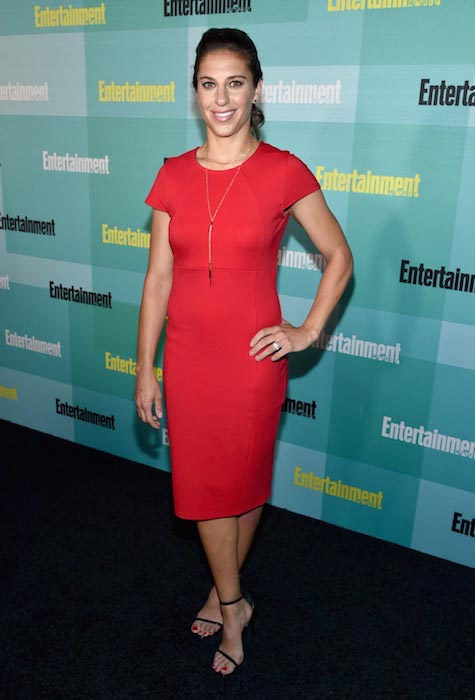 Carli Lloyd at Comic-Con International in San Diego in 2015