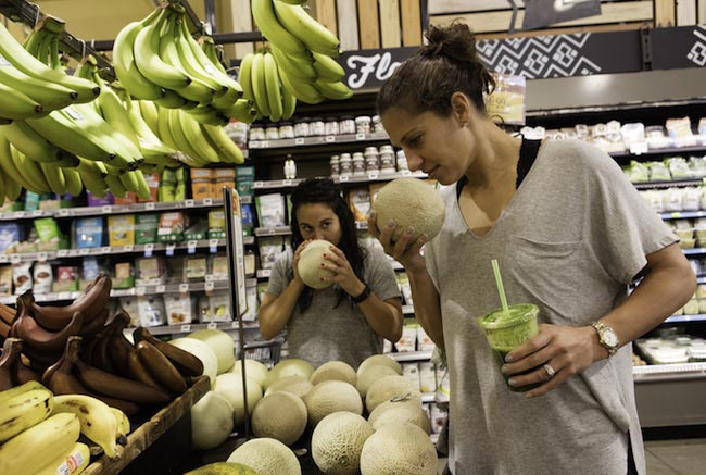Carli Lloyd at Whole Foods Market