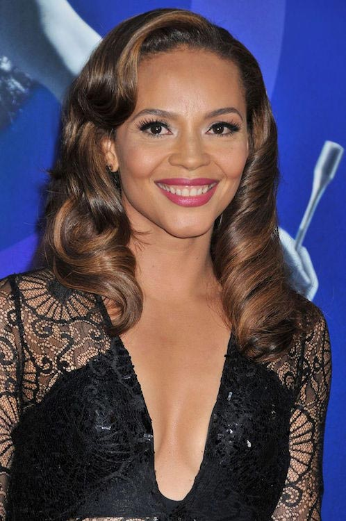 Carmen Ejogo at the premiere of Tri Star Pictures' Sparkle on August 16, 2012