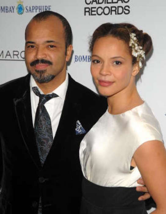 Carmen Ejogo with former husband actor Jeffrey Wright