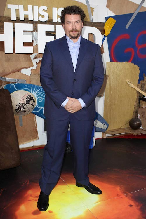 "Danny McBride at the premiere of ""This Is The End"" in June 2013"