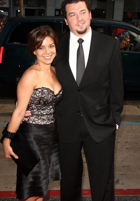 Danny McBride with his wife Gia Ruiz