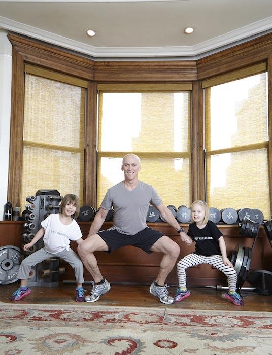 David Kirsch Sumo Lunge - Lower Body workout