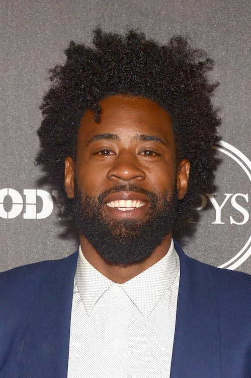 DeAndre Jordan at the BODY At The ESPYs gala party on July 12, 2016 in Los Angeles