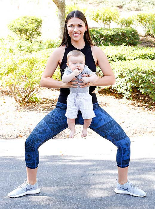 Deanna Pappas Stagliano Post-Pregnancy Workout & Diet ...