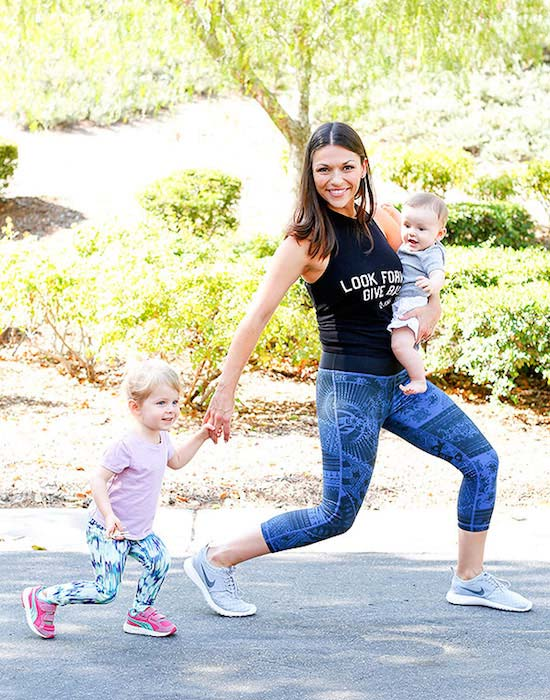 Deanna Pappas Stagliano body after second baby