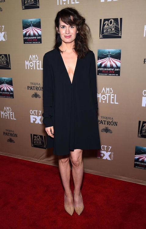 "Elizabeth Reaser at FX's ""American Horror Story: Hotel"" premiere in October 2015"