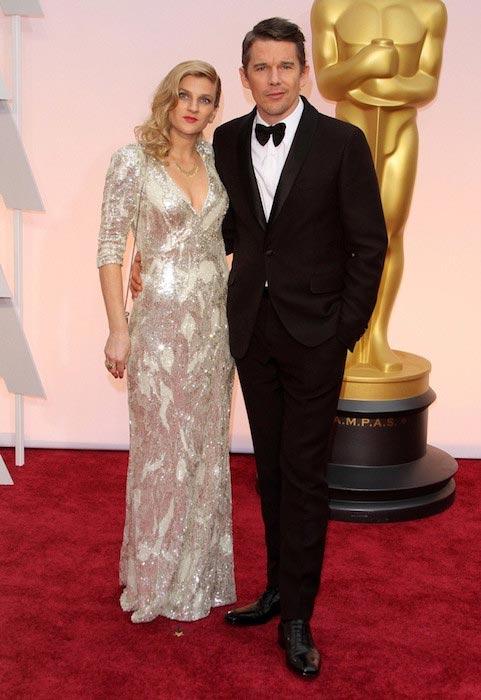 Ethan Hawke and Ryan Hawke at the Academy Awards 2015