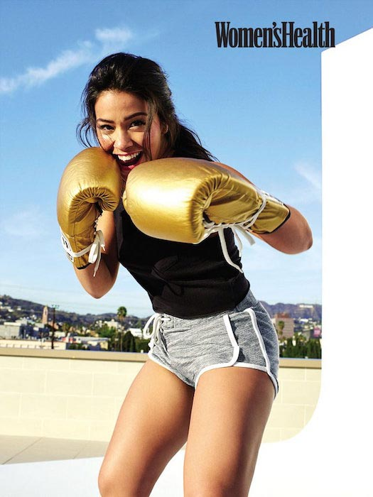 Gina Rodriguez during a Women's Health May 2016 photoshoot